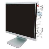 Infoline die Notizzettel Klemmleiste für den PC Monitor